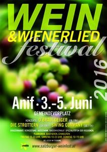 Weinfest Plakat klein