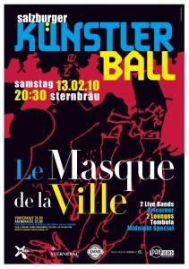 Poster Kuenstlerball